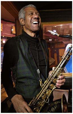 Billy Harper, T.K. Blue Recording Session, Kaleidoscope Studios, Union, NJ 2018