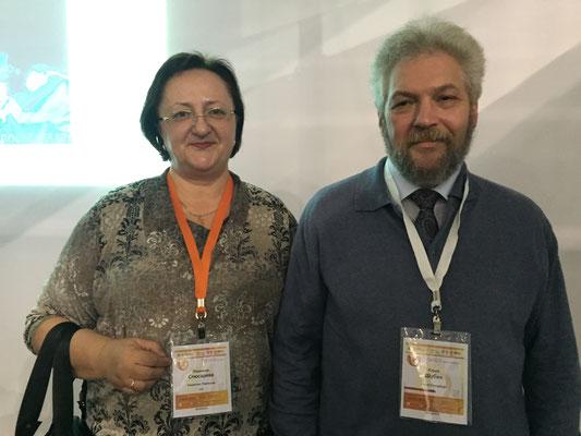 На съезде аритмологов с профессором Ю. В. Шубиком.