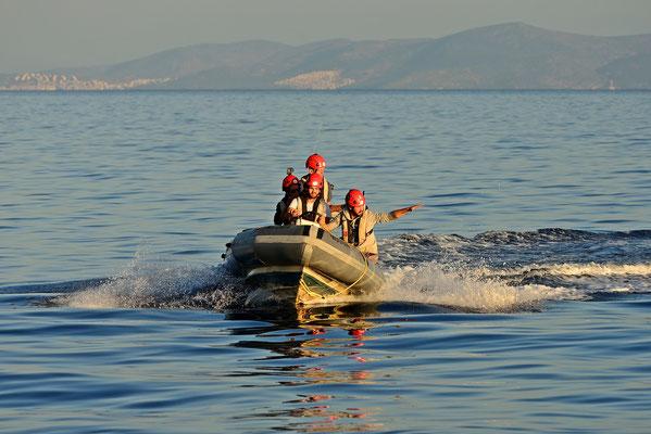 Rescue training