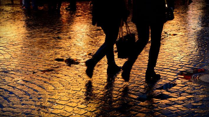 walking on light