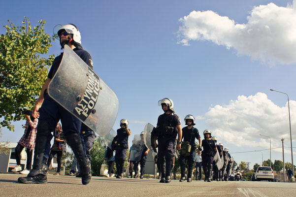 show of force   greece