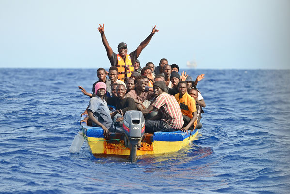 saving humans in the central med