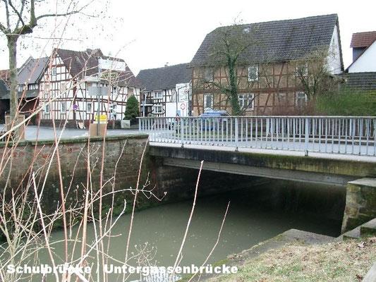 Schulbrücke / Untergassenbrücke