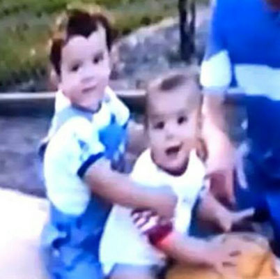 Baby Kevin and Joe - Off The Record throwback videos.