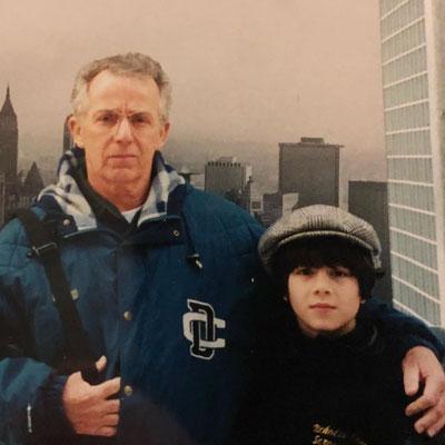 Papa Jerry and Nicholas.