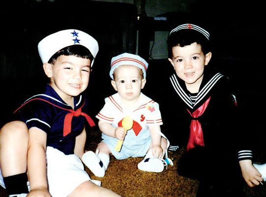 Little sailors!