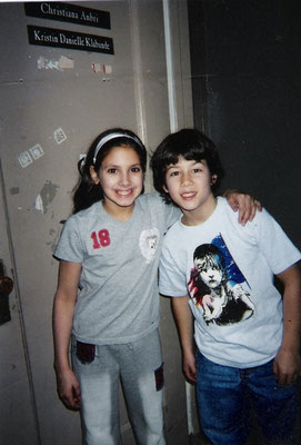 "Christiana ""Nan"" Anbri and Nicholas Jonas. Thanks to Christiana Anbri!"