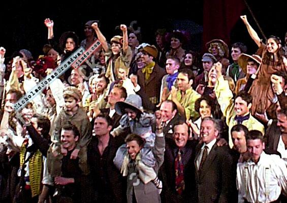 "Au Revoir - arms up in a ""yeeeeeahhh!!"". Credit- original, GettyImages; edit- NJB"