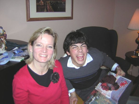 Joe and Mandy's mother.
