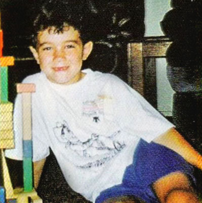 Kevin liked to build stuff when he was little.