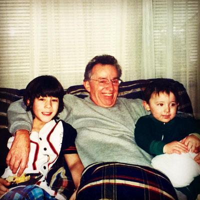 Papa Jerry, Nick and Frankie.
