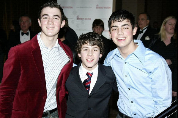 Sons Of Jonas Photo by Roger Karnbad. 13th Annual Movieguide Awards at the Beverly Hilton Hotel February 24, 2005 - Beverly Hills, California.