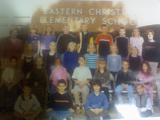 Nicholas and his class- Eastern Chrisitian Elementary School. Grade 2/3