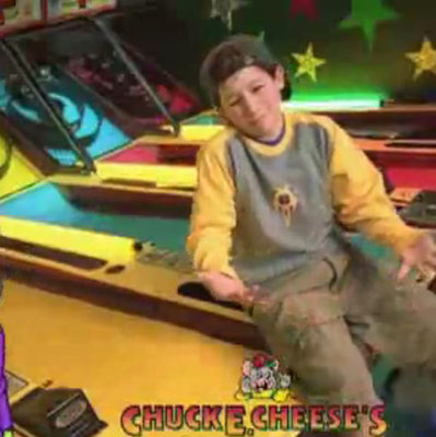 Nick for Chuck & Cheese's