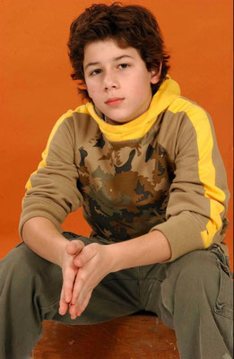 'Nicholas Jonas' photoshoot session, November 2nd 2004  6:00:03 pm. By Anothony Cutajar, NY.