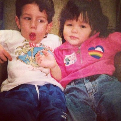 Nick and Maya, how cute are they?