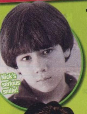 Nick's first headshot photoshoot (1999)
