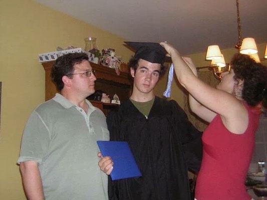 Kevin's graduation.