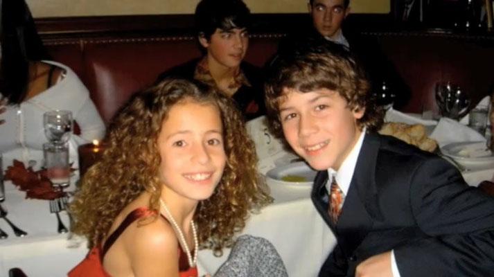 Nicholas with Tiffany Giardina. Joe and Kevin in the back.