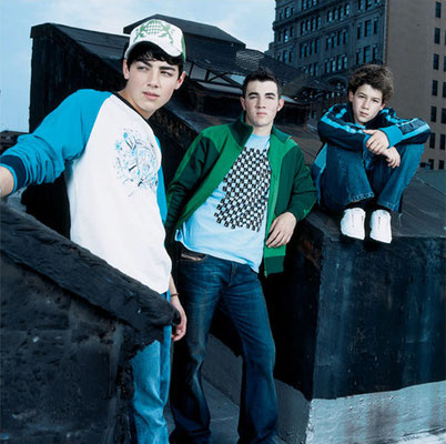 'Nicholas Jonas' photoshoot session with the Sons of Jonas, November 1st 2004.