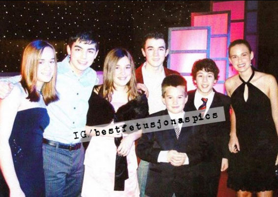 The boys and friends at the 13th Annual Movieguide Awards at the Beverly Hilton Hotel February 24, 2005