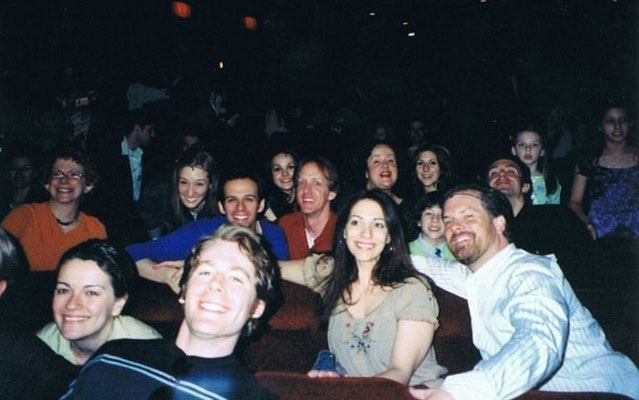 Les Mis cast, look closely and you'll see Nicholas! thanks to the Les Miserables Broadway Alumni!