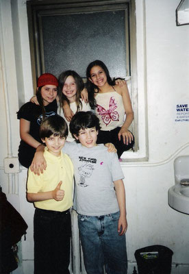 Kristin, Alexandra, Christiana (Young Cosette/Young Eponine alternates), Andrew, and Nicholas. Thanks to Christiana Anbri!