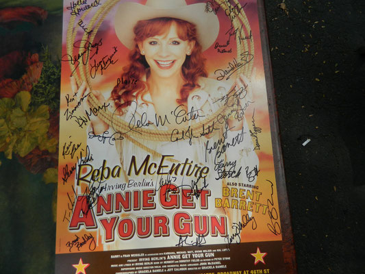 Another AGYG poster signed by the full cast