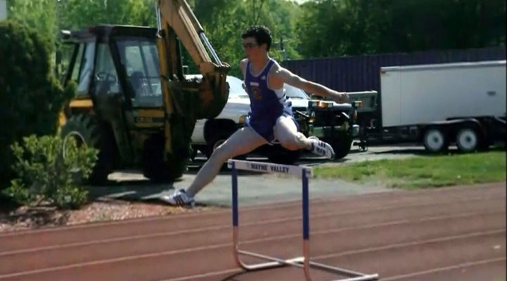Kevins high school Track and Field team- 2004