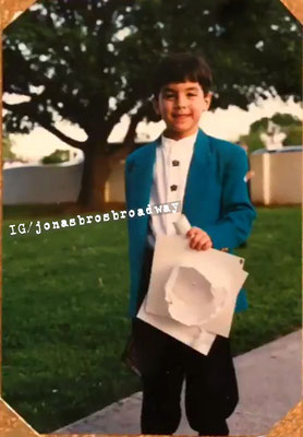 Kindergarten graduation, perhaps? Thanks Mrs. Jonas for sharing these treasures for #NationalJoeDay. Edited by NJB :)