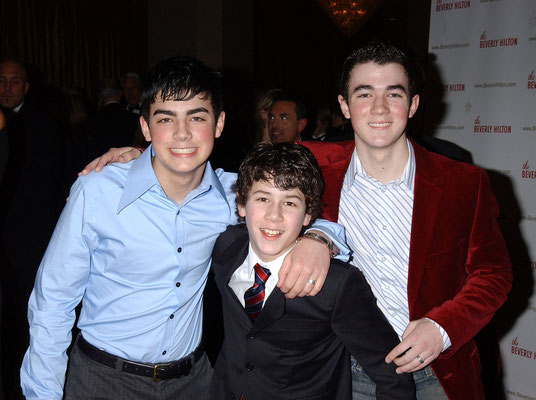 Sons Of Jonas Photo by Roger Karnbad. 13th Annual Movieguide Awards at the Beverly Hilton Hotel February 24, 2005 : 7:49 PM - Beverly Hills, California.