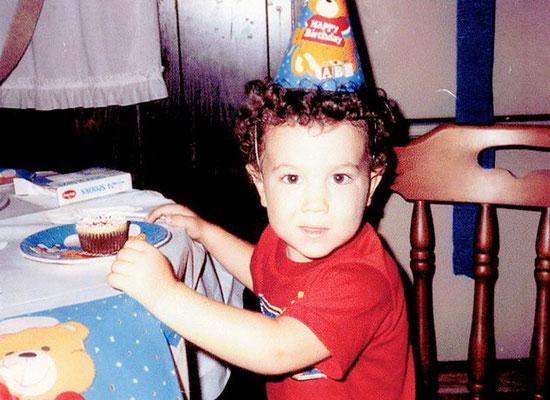 Celebrating his 2nd birthday.