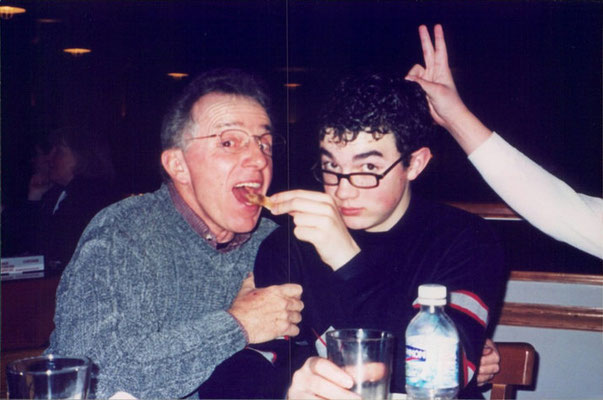 Kevin with Papa Jerry.