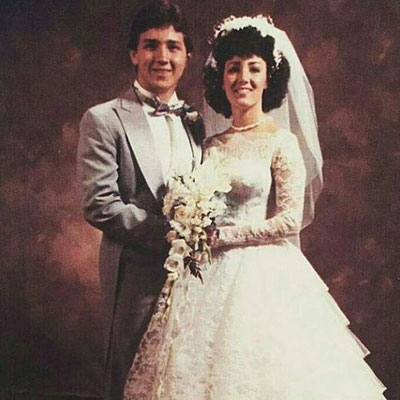 Shared by Denise on their 31st Anniversary.
