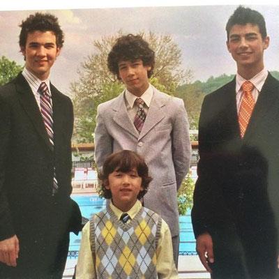 Jonas boys formal picture.