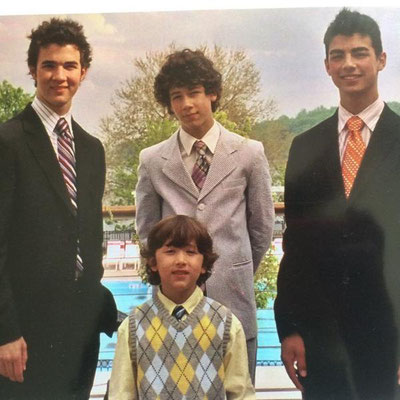 Jonas boys formal picture.