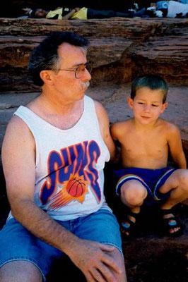 Papa Jerry and Nick.