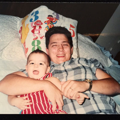 Joe and Papa.