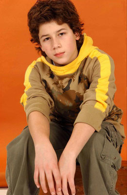 'Nicholas Jonas' photoshoot session, November 2nd 2004  6:01:03 pm. By Anothony Cutajar, NY.