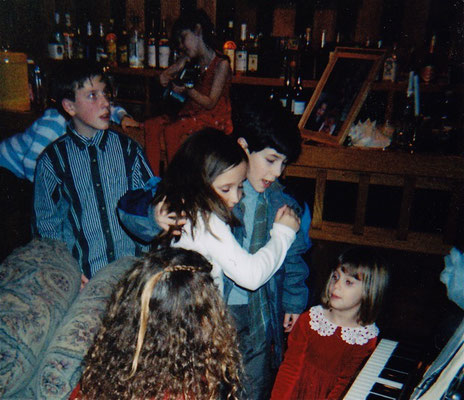 Nick hugs Ali Brustofski at the cast party after the show ended its run. Credit Ali Brustofski!