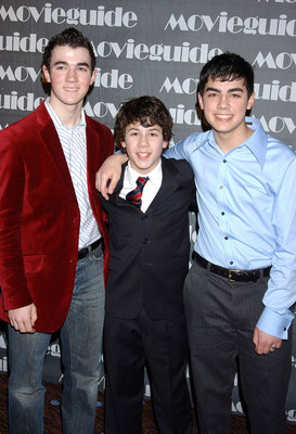 Sons Of Jonas Photo by Roger Karnbad. 13th Annual Movieguide Awards at the Beverly Hilton Hotel February 24, 2005 : 10:17 PM - Beverly Hills, California.