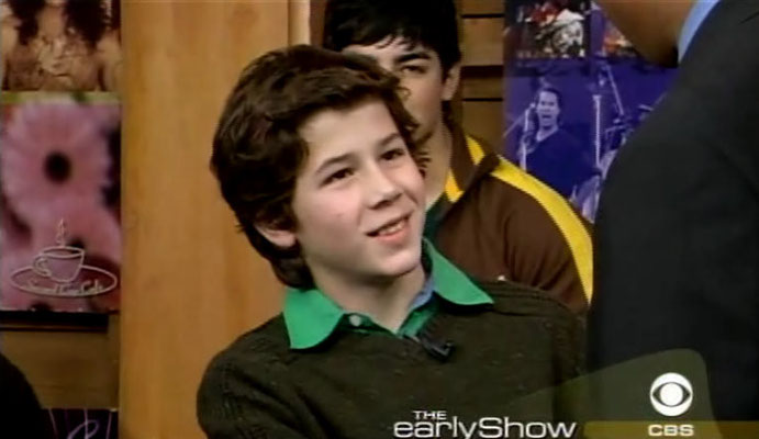 Jonas boys on the Early Show, Nov. 6 2004. Interview. CREDIT: NJB and CBS