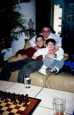 Nick, Josh and Papa Jerry