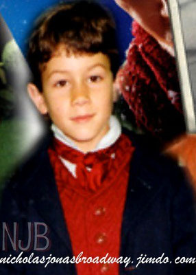 Distinquished English Gentleman :                                                             Nick as Scrooge at 8 -NJB Exclusive!  - credit nicholasjonas.com