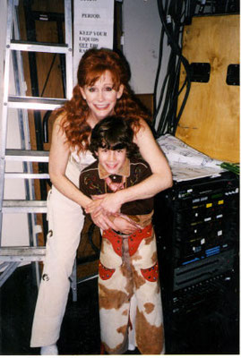 Nick and Reba posing in costume - credit nicholasjonas.com