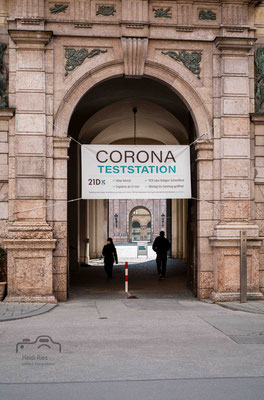 Corona Teststation