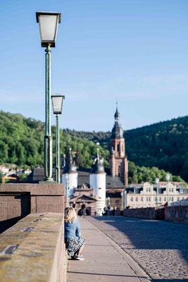 Alte Brücke ohne Touris