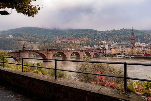 326|365 21.10.2016 - Alte Brücke und Heidelberger Schloss