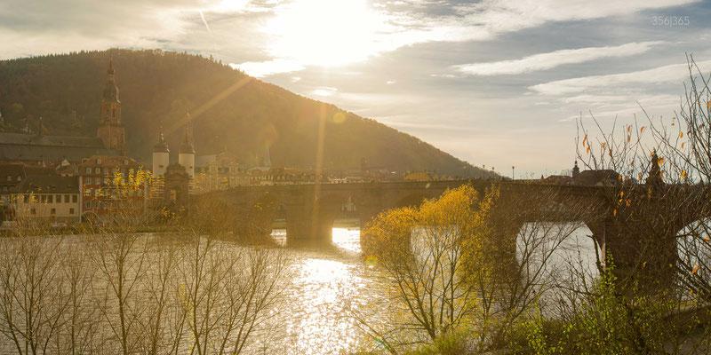 356|365 20.11.2016 - Die Alte Brücke im Gegenlicht