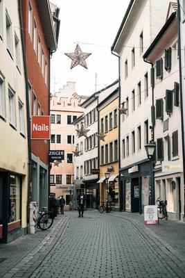 Konstanz, zwei Tage vor Weihnachten